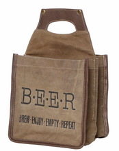 "Load image into Gallery viewer, ""BREW"" BEER CADDY"