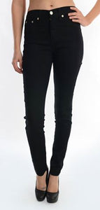 High Waist Skinny Black Judy Blue Jeans