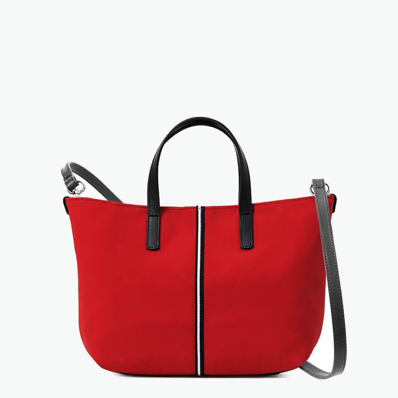 Carlia Small Tote Canvas and Leather - Nosetta