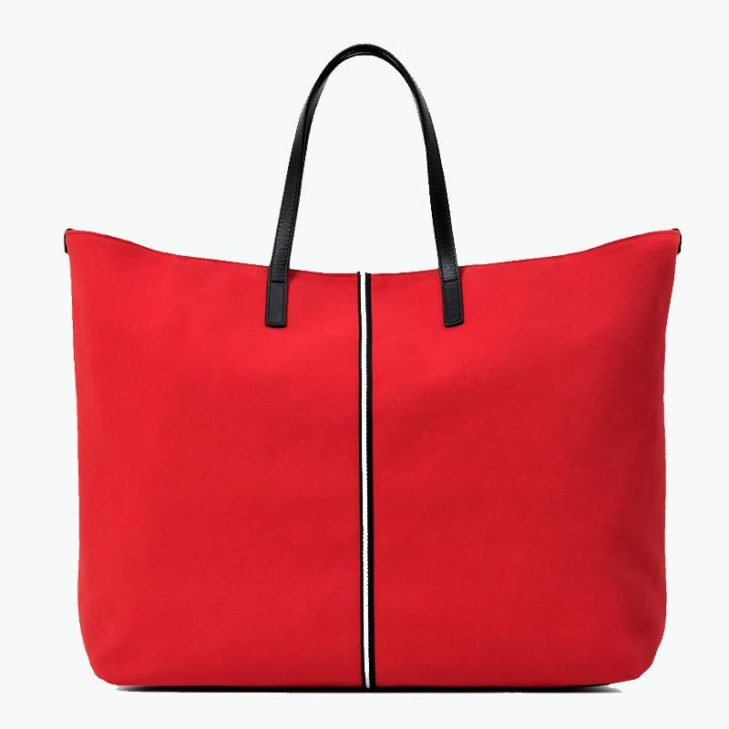 Carlotta Large Tote Canvas and Leather - Nosetta