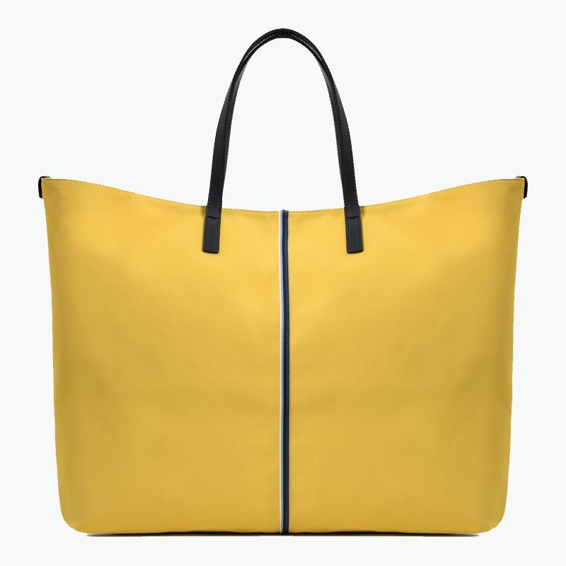 Carlotta Large Tote Canvas and Leather
