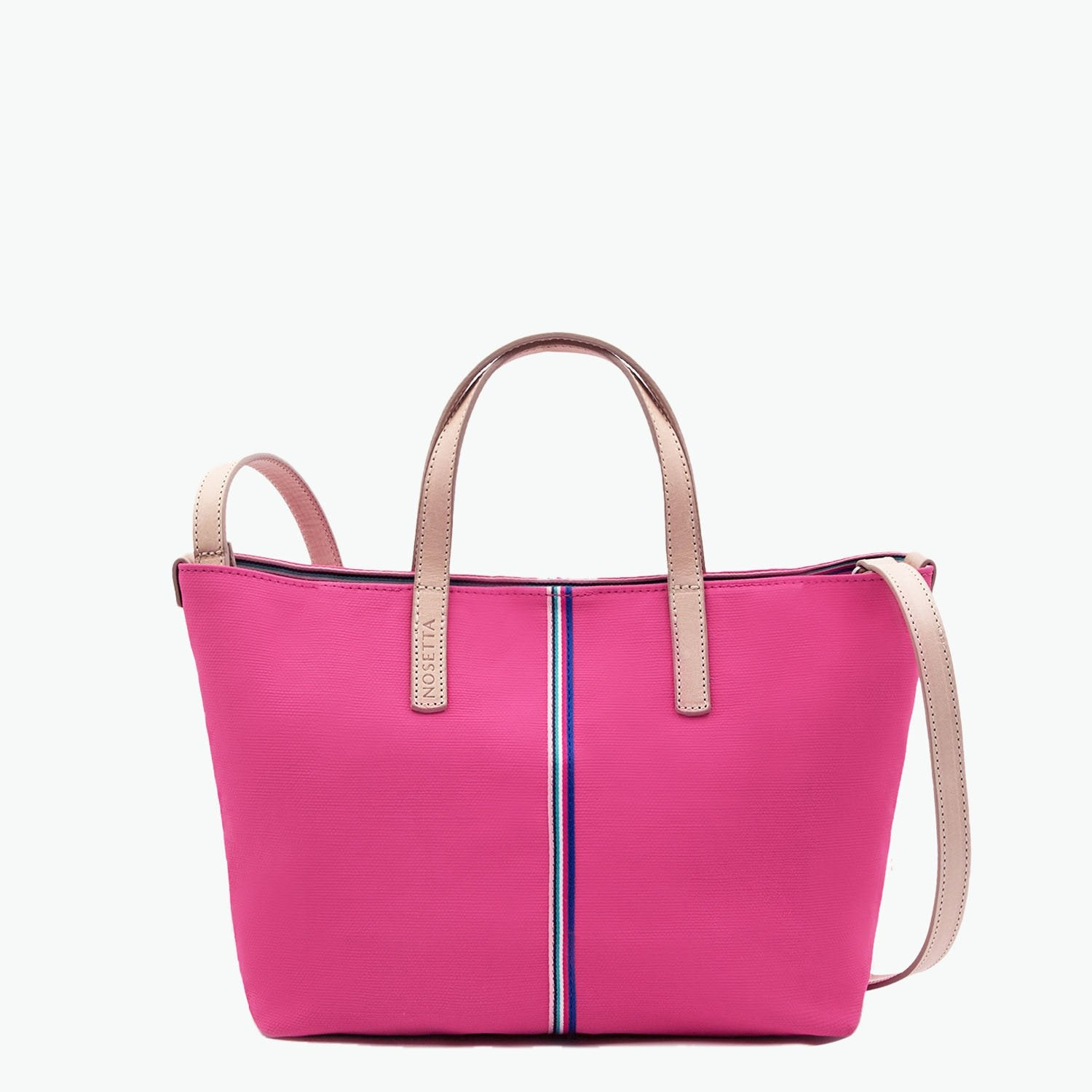 Carlia Small Tote Canvas and Leather