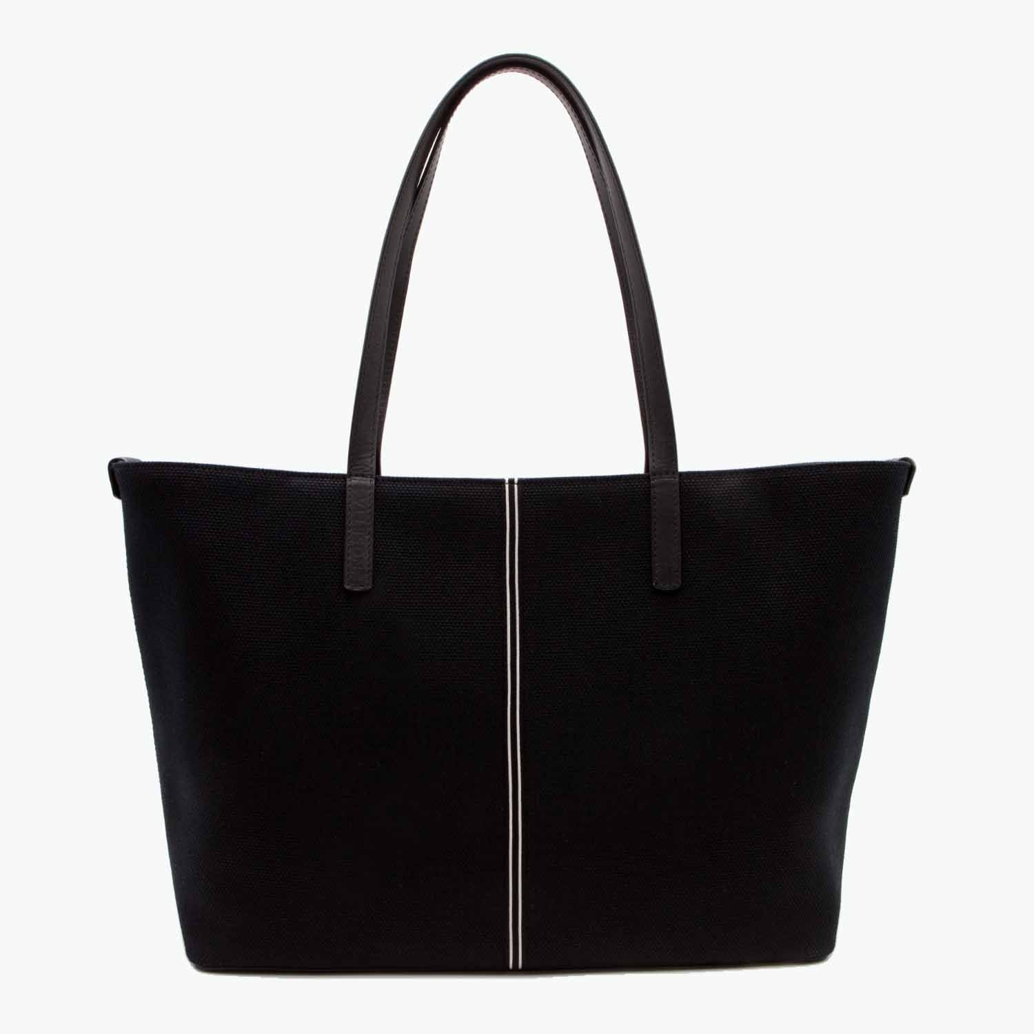 Celesia Medium Tote Cotton Canvas and Leather