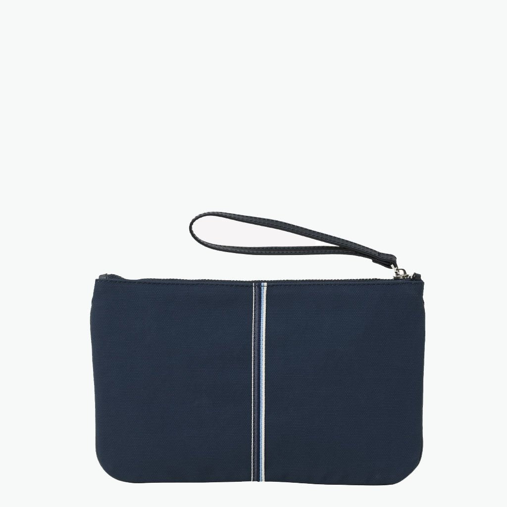 Gallia Clutch Canvas and Leather - Nosetta