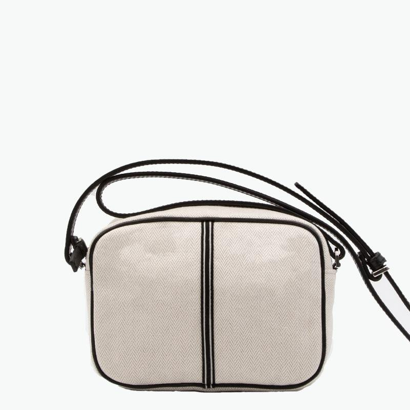 Margherita Crossbody Cotton-Linen and Leather - Nosetta
