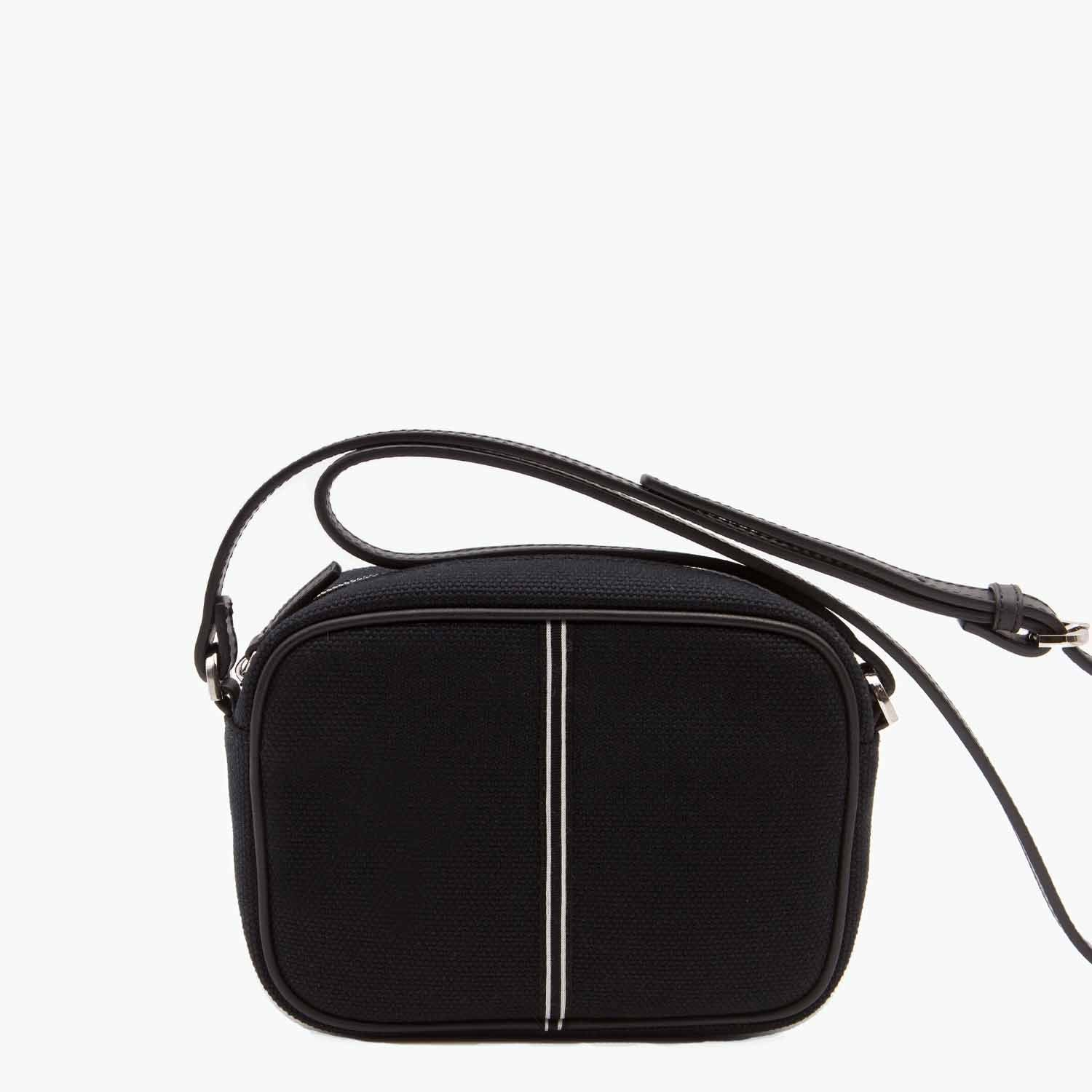 Margherita Crossbody Cotton Canvas and Leather - Nosetta