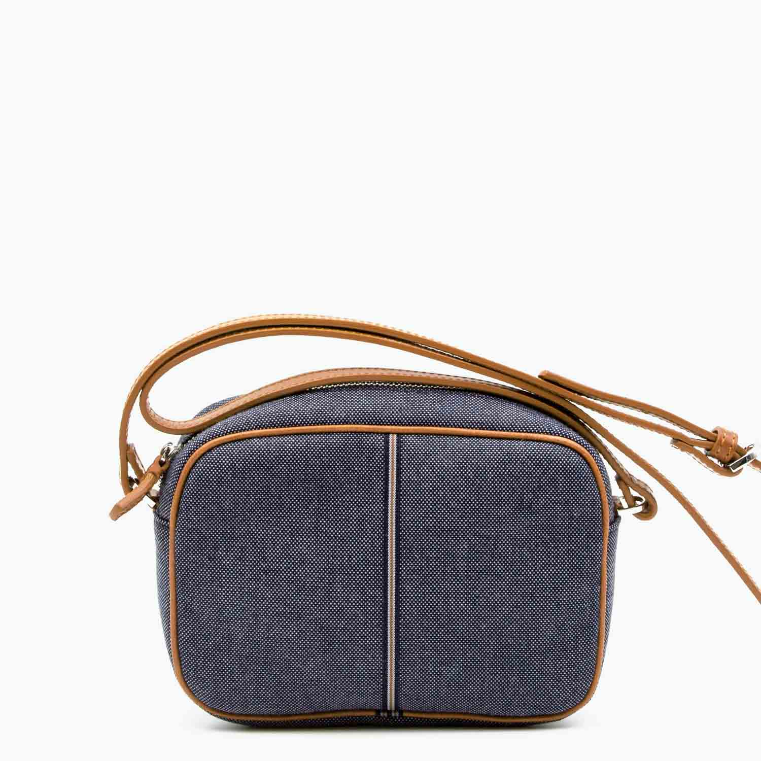 Margherita Crossbody Denim and Leather