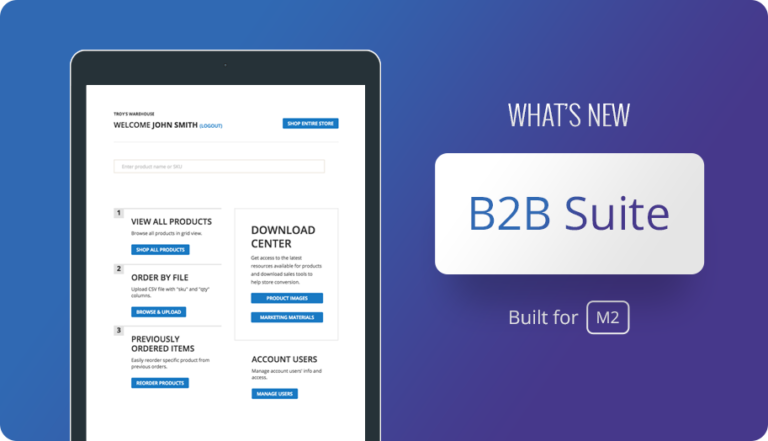 See What's New with B2B Suite