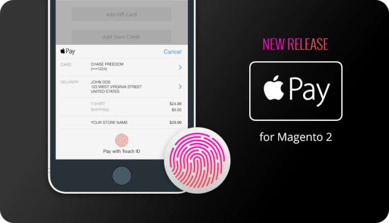 Apple Pay for Magento 2. Available Now from IWD Agency.