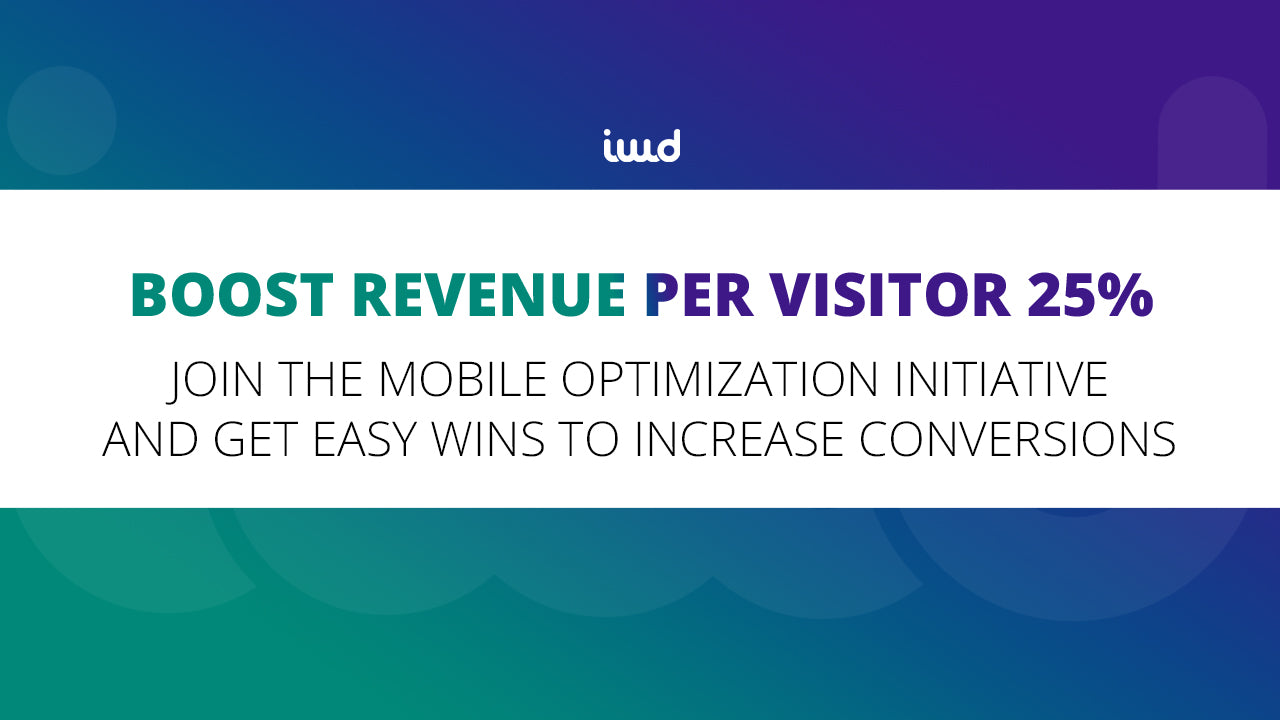 The Mobile Optimization Initiative for eCommerce Is Here