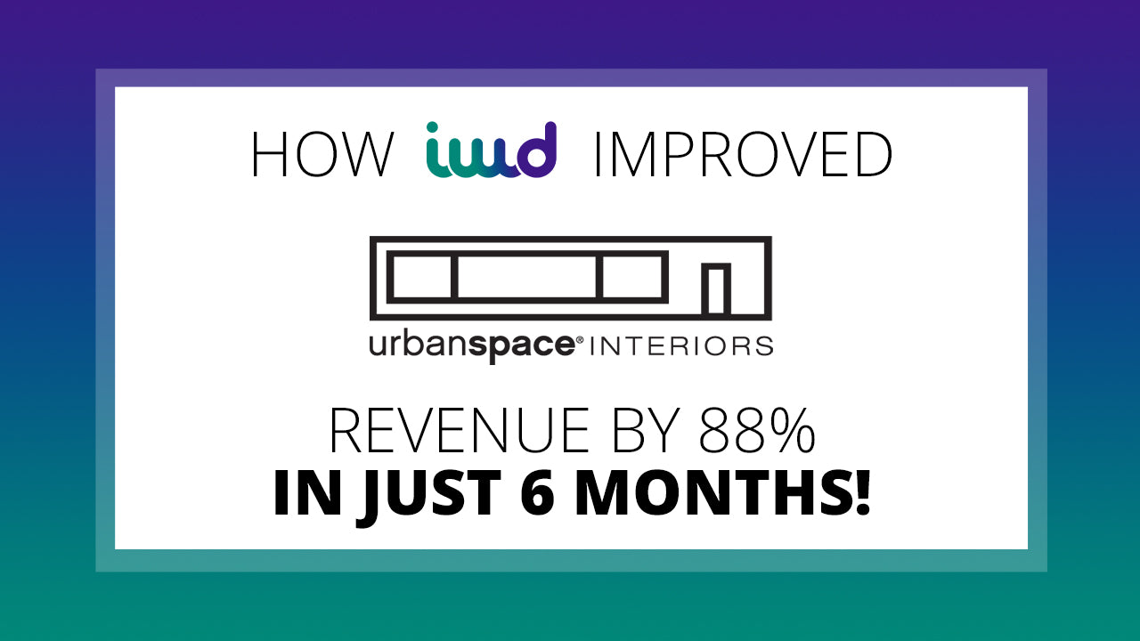 How IWD Improved Urbanspace's Revenue by 88% in Just 6 Months!