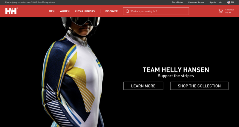 Helly Hansen Home Page