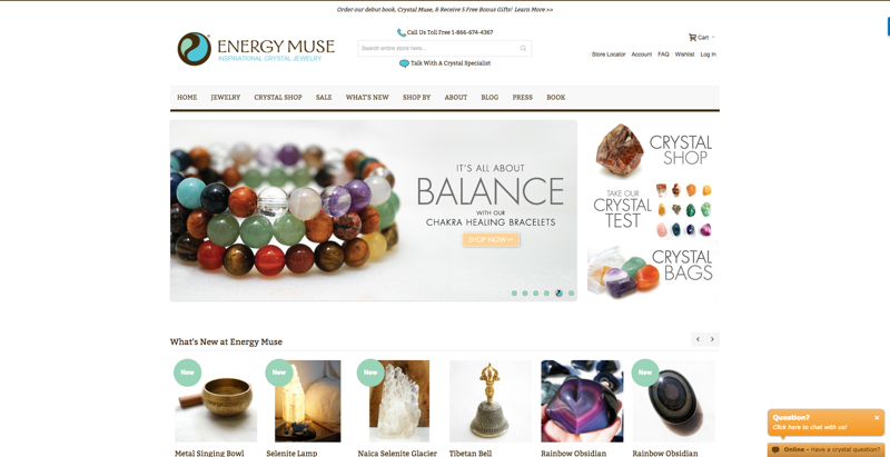 Energy Muse homepage