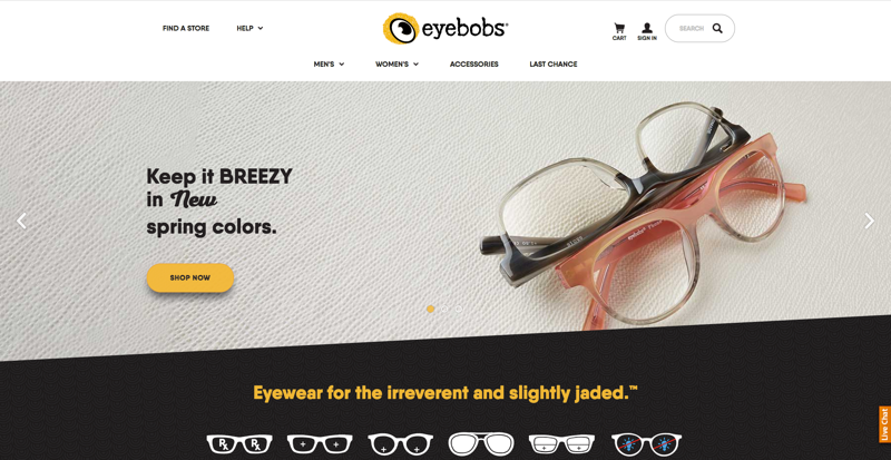 eyebobs Home Page