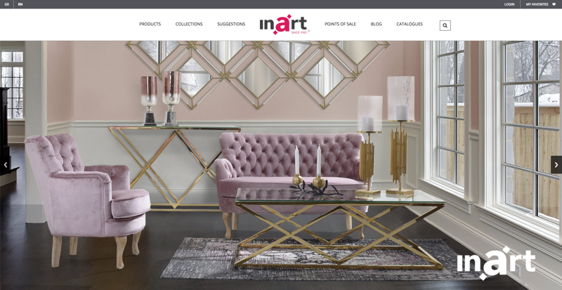 Inart Homepage