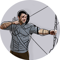 Oleg as Gren Arrow