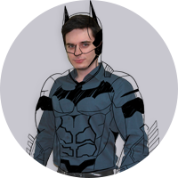 Yaroslav as Batman