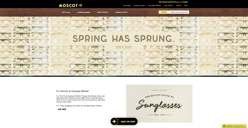 Moscot Home Page