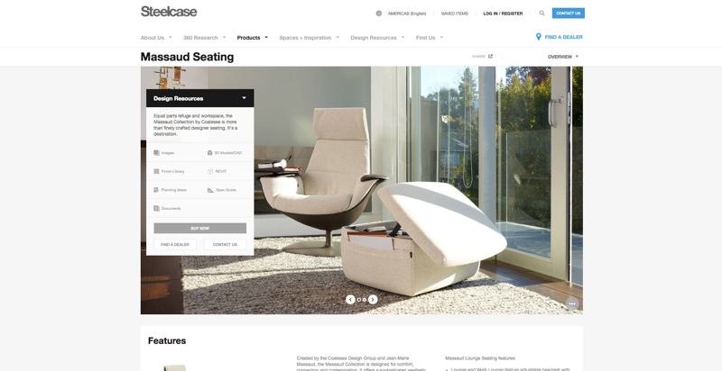 Steelcase Product Page