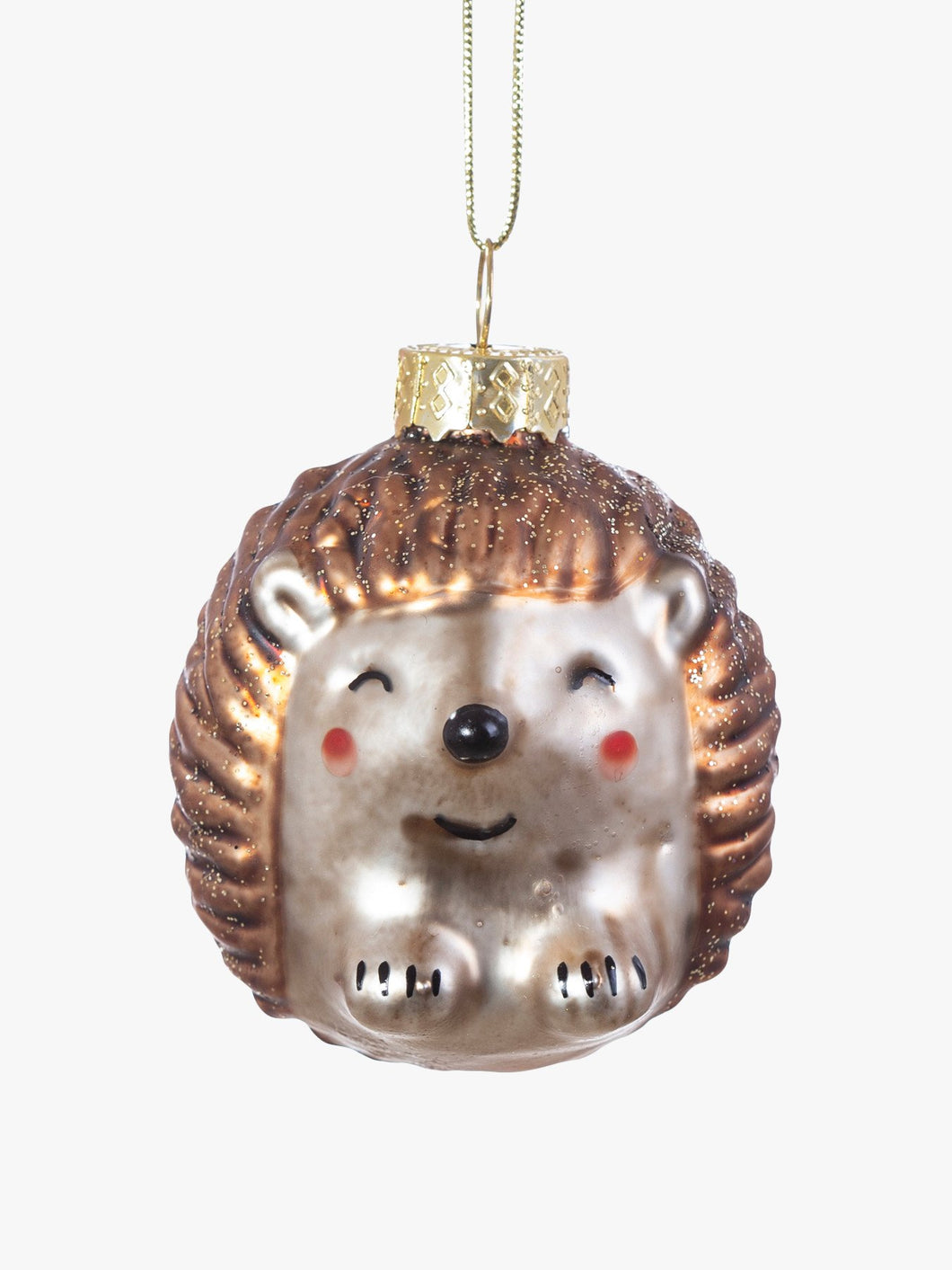 Sass and Belle Baby Hedgehog Shaped Bauble