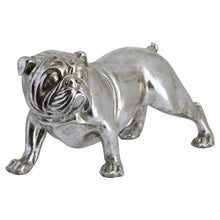 Load image into Gallery viewer, Winston The Bulldog Antique Silver Ornament