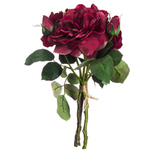 Red Short Stem Rose Bouquet