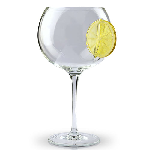 Ice & Slice Balloon Copa Gin Glass-Lemon