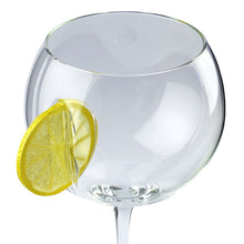 Load image into Gallery viewer, Ice & Slice Balloon Copa Gin Glass-Lemon