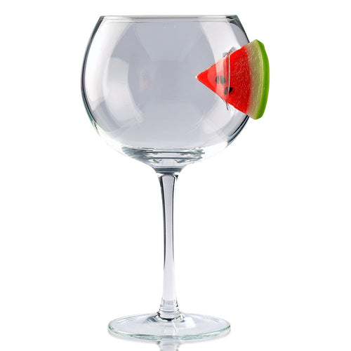 Ice & Slice Balloon Copa Gin Glass-Watermelon