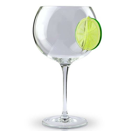 Ice & Slice Balloon Copa Gin Glass-Lime