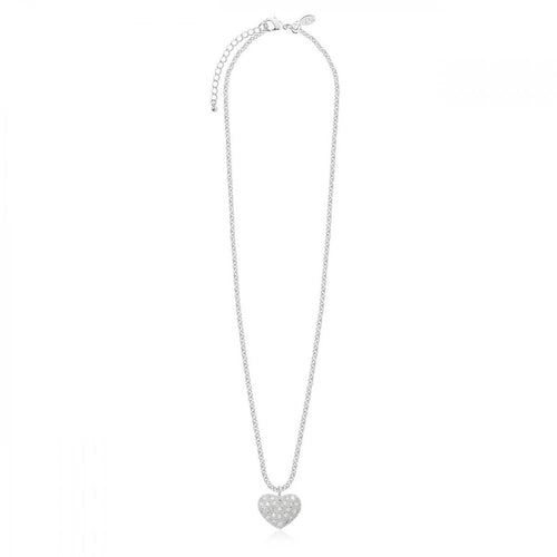 Joma Jewellery| Bella |  Pave Heart Necklace
