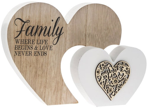 Double Heart Block-Family where life begins and love never ends
