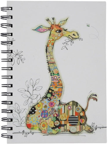 Bug Art Giraffe Notebook A6