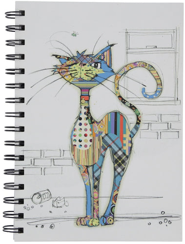 Bug Art Cola Cat Design Notebook A5