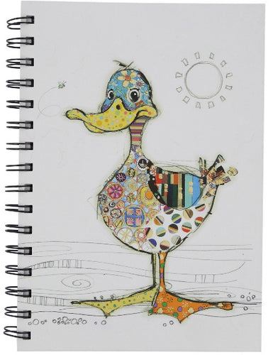 Bug Art Duck Notebook A6