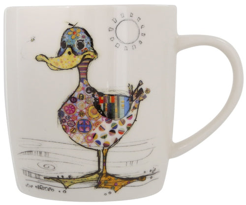 Bug Art Dotty Duck Mug