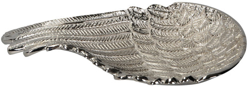Silver Angel Wing Dish, 35cm