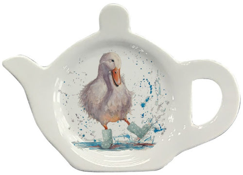 Deidre Duck Tea Bag Tidy