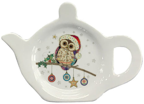 Bug Art Bauble Owl Teabag Tidy