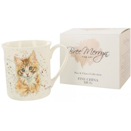 Nutmeg the Ginger Kitten fine china mug