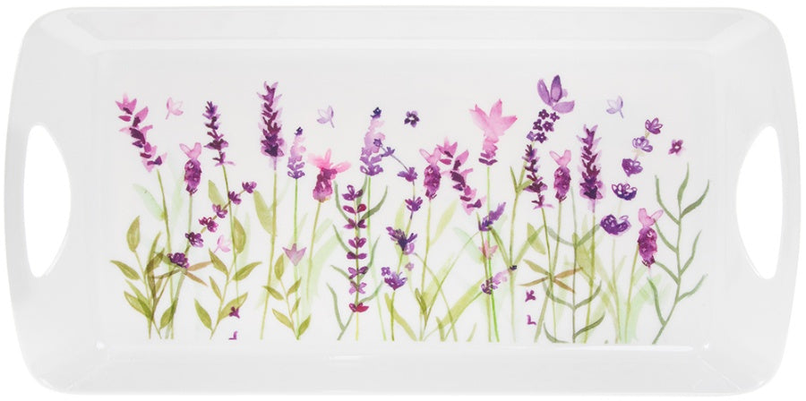 Purple Lavender Medium Tray
