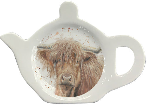 Highland Cow Tea Bag Tidy