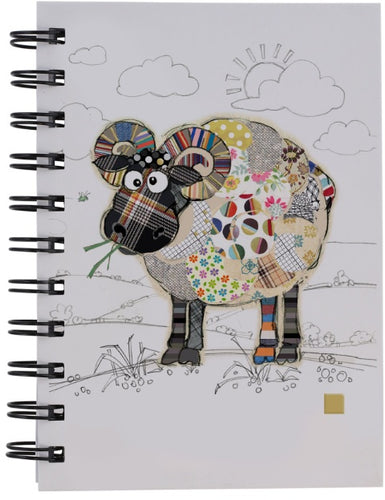 BUG ART RAYMOND RAM DESIGN A6 NOTEBOOK