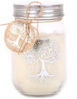 Tree of Life Candle Jar