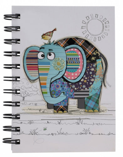 Bug Art Eric Elephant Notebook A6
