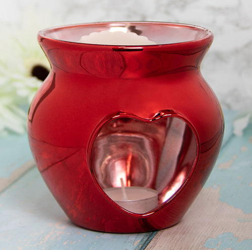 Deep Red Wax Warmer