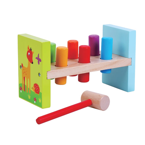 Hammer Bench Wooden Toy