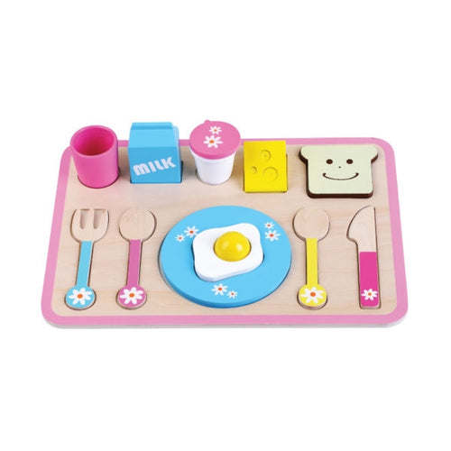 Wooden Toy Breakfast Set