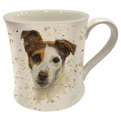 Bree Merryn  Jake Jack Russell Dog Fine China Mug