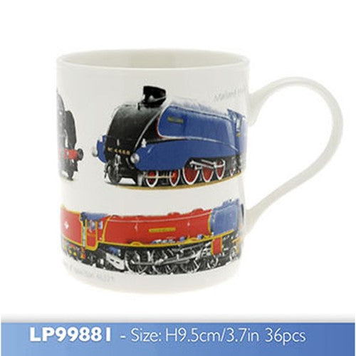 Classic Boxed Loco Train Mug